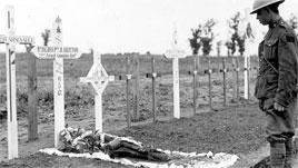Tombes canadiennes près de Vimy