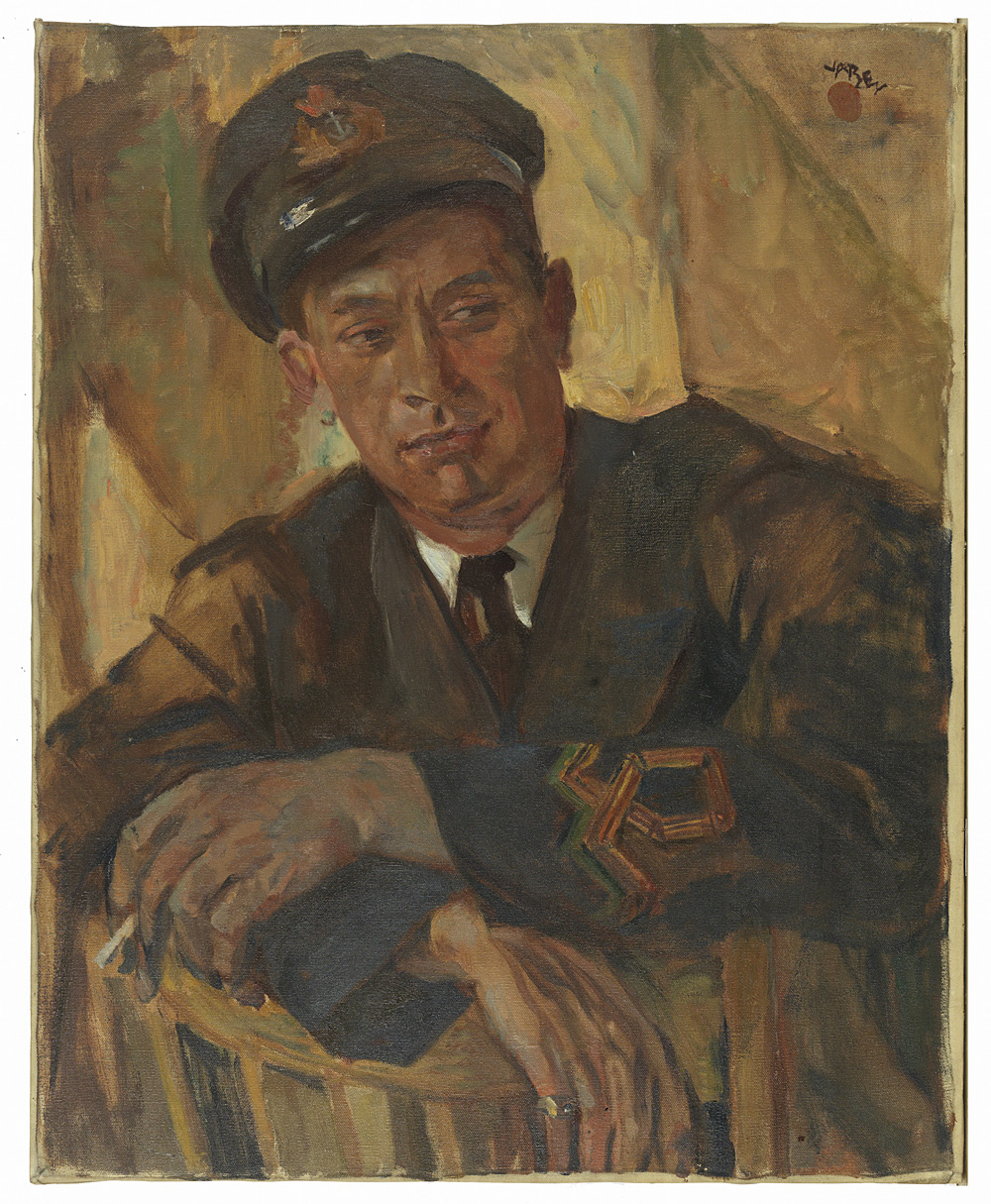 Portrait d'un officier de marine, Harry Kelman