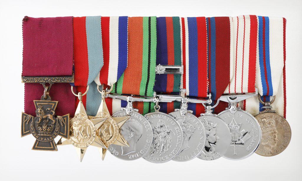 Ensemble de médailles du lieutenant-colonel Currie