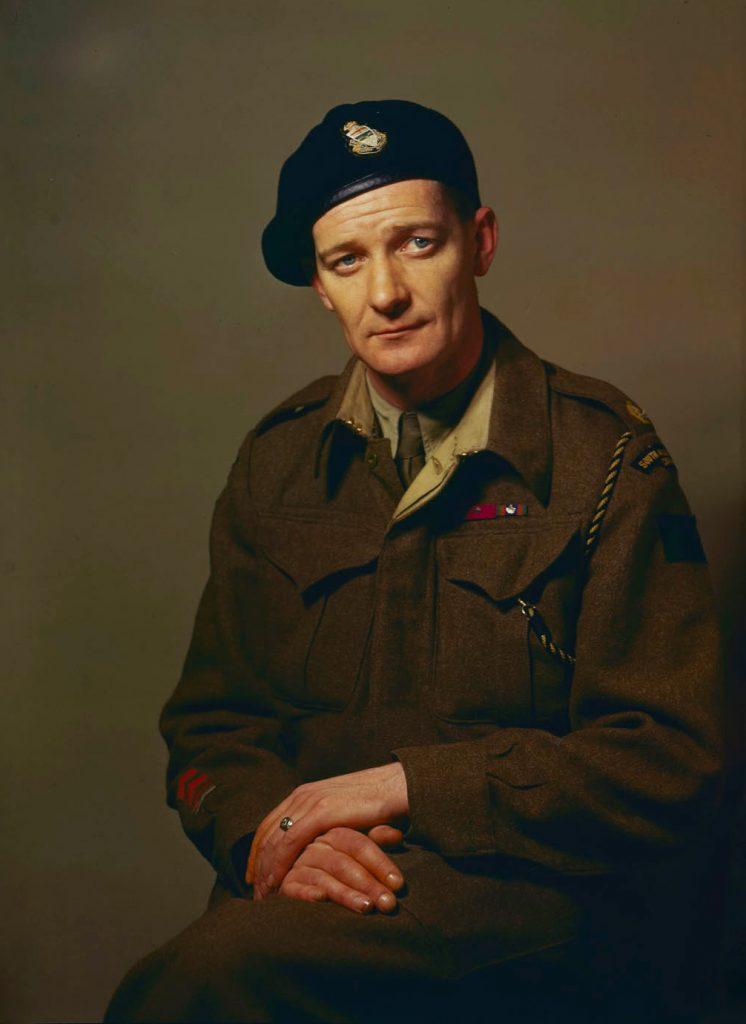 Portrait du lieutenant-colonel Currie