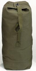 Top load canvas duffle bag olive drab:: Sac marin