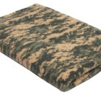 Fleece blanket  a.c.u. digital camo:: Couverture couleur camouflage digital