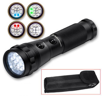 Smith & Wesson galaxy 12 bulb LED flashlight:: Lampe de poche de 12 ampoules LED Smith & Wesson