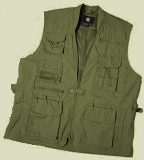 Plainclothes concealed carry vest olive drab:: Veste civil avec chargement dissimul