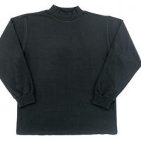 Mock turtleneck black:: Chandail