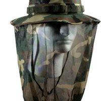 UF camo bonnie hat w/camo mosquito netting:: UF chapeau bonnie camouflage avec moustiquaire camouflage