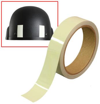 Military phosphorescent luminous tape:: Ruban adh