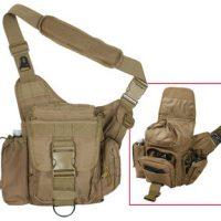 Advanced tactical bag in tan:: Sac tactique avanc
