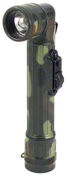 Mini camouflage army style flashlight:: Mini lampe de poche couleur camouflage de style arm
