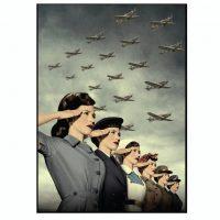 World War Women Microfibre Towel