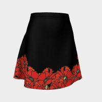 Poppy Flared Skirt