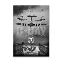 D-Day Normandy 75th Anniversary Canvas Print