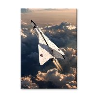 Avro Arrow Plane Canvas Print
