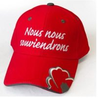 Lest We Forget Red Baseball Cap -