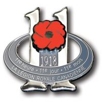 Armistice Day Lapel Pin - French