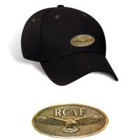 RCAF Black Baseball Cap