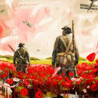 In Flanders on Canvas by Brian Lorimer