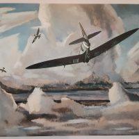 Canvas of War Blank Art Cards