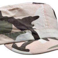 Women adjustable vintage fatigue cap subdued pink camo