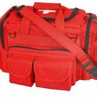 Emergency Bag with Cross Printed on Top Flap