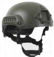 Olive Desert Airsoft Helmet