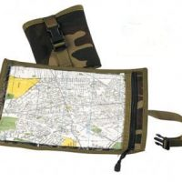 Camouflage Map and Document Case