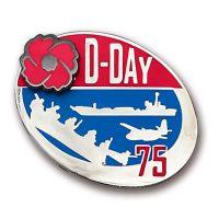 D-Day 75th Anniversary Lapel Pin