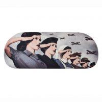 World War Women Eyeglass Case