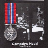 War Campaign Medal Miniature Reproduction