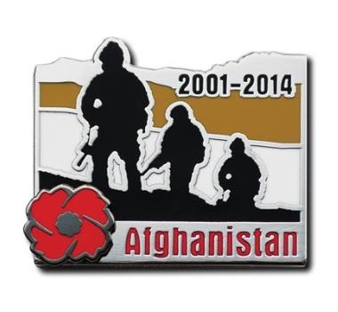 Afghanistan 2001-2014 Lapel Pin