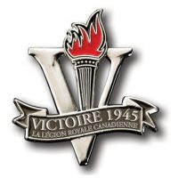 Victory 1945 Lapel Pin - French