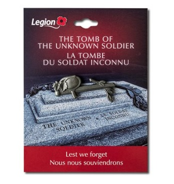 Pin Commemorating the Tomb of the Unknown Soldier