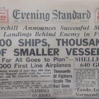 Reproduction d'un journal de 1944
