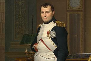 L'empereur Napoléon, dans son cabinet des Tuileries