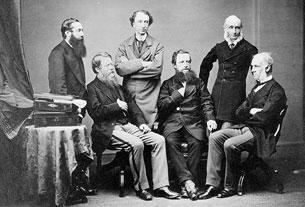 Les hauts-commissaires britanniques du traité de Washington