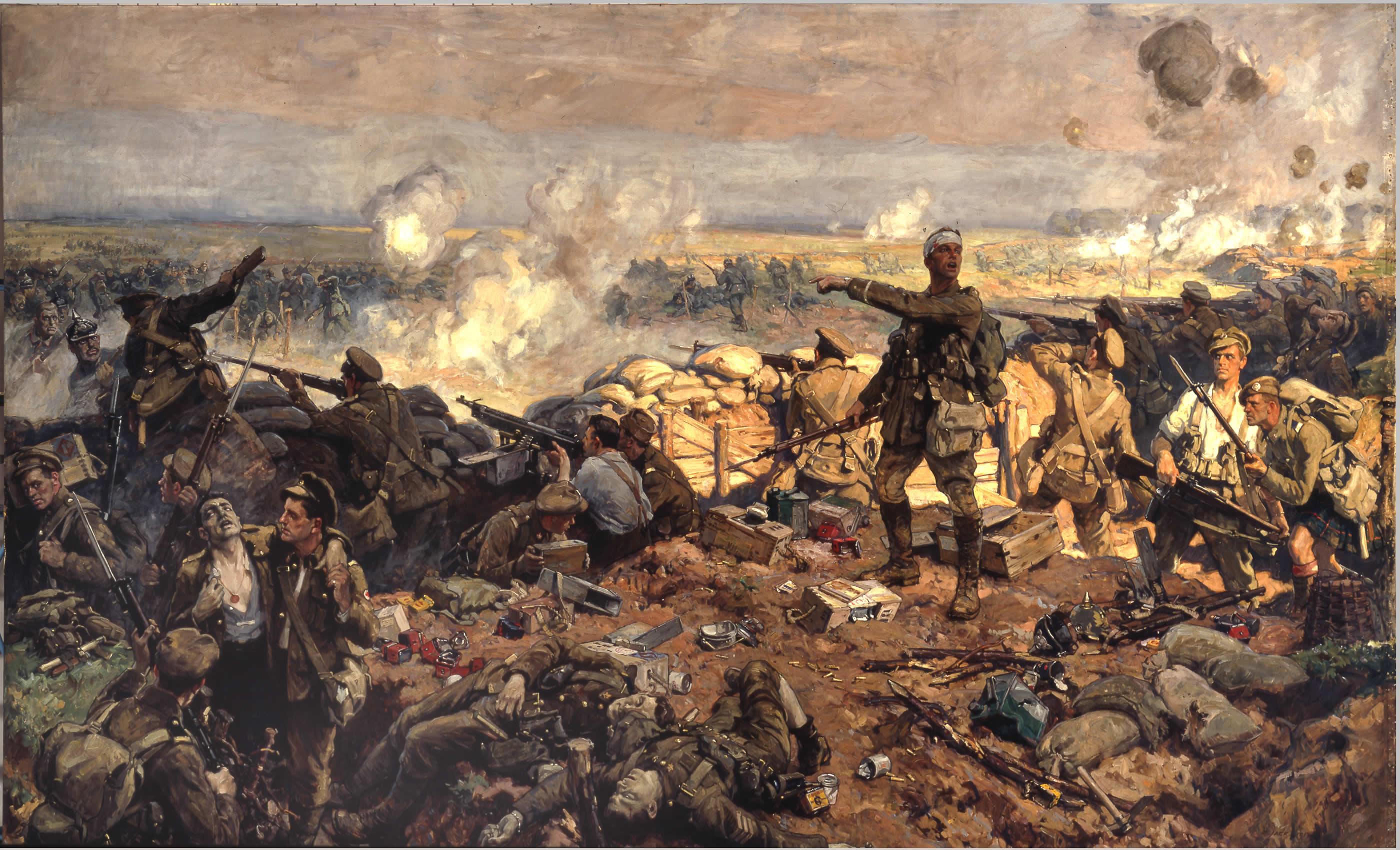 La deuxième bataille d'Ypres, du 22 avril au 25 mai 1915