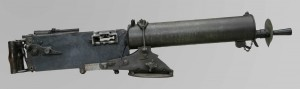 Mitrailleuse allemande Maxim 08
