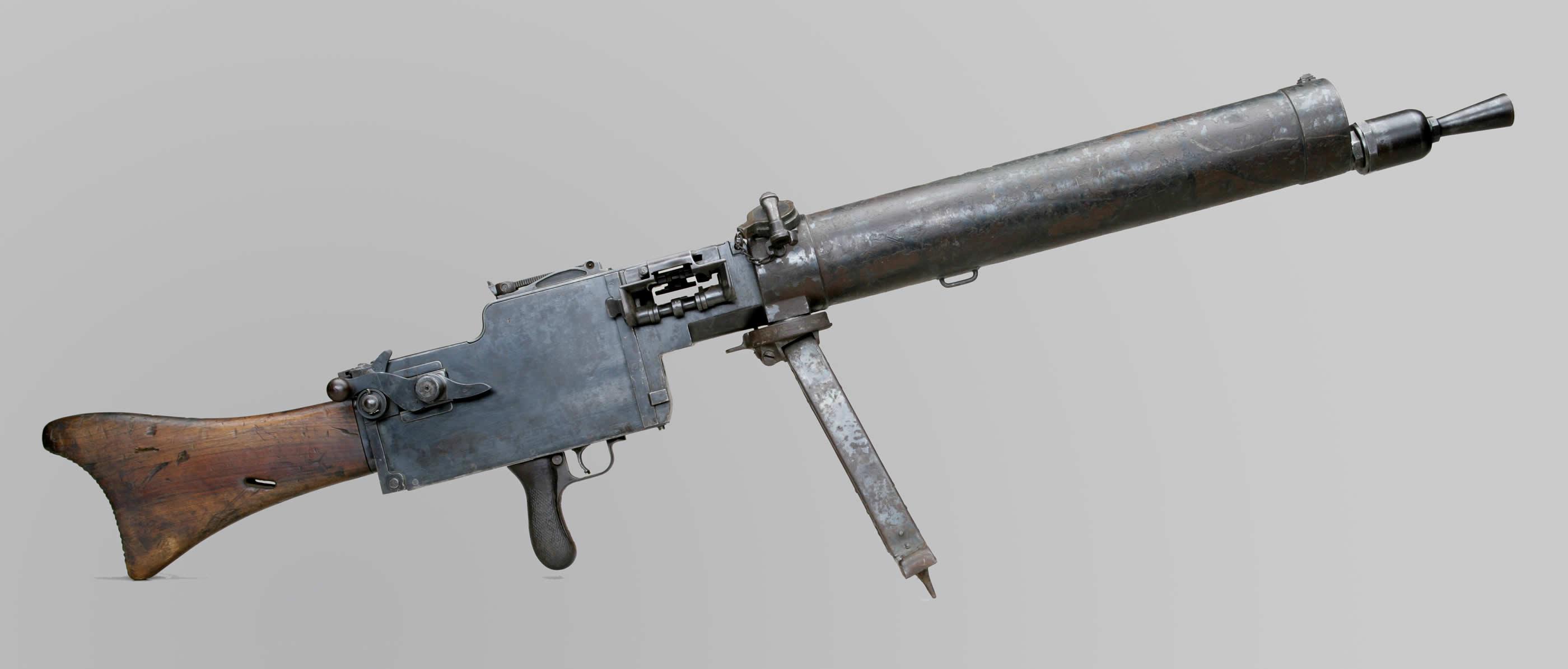 Mitrailleuse légère allemande Spandau de 7,92mm