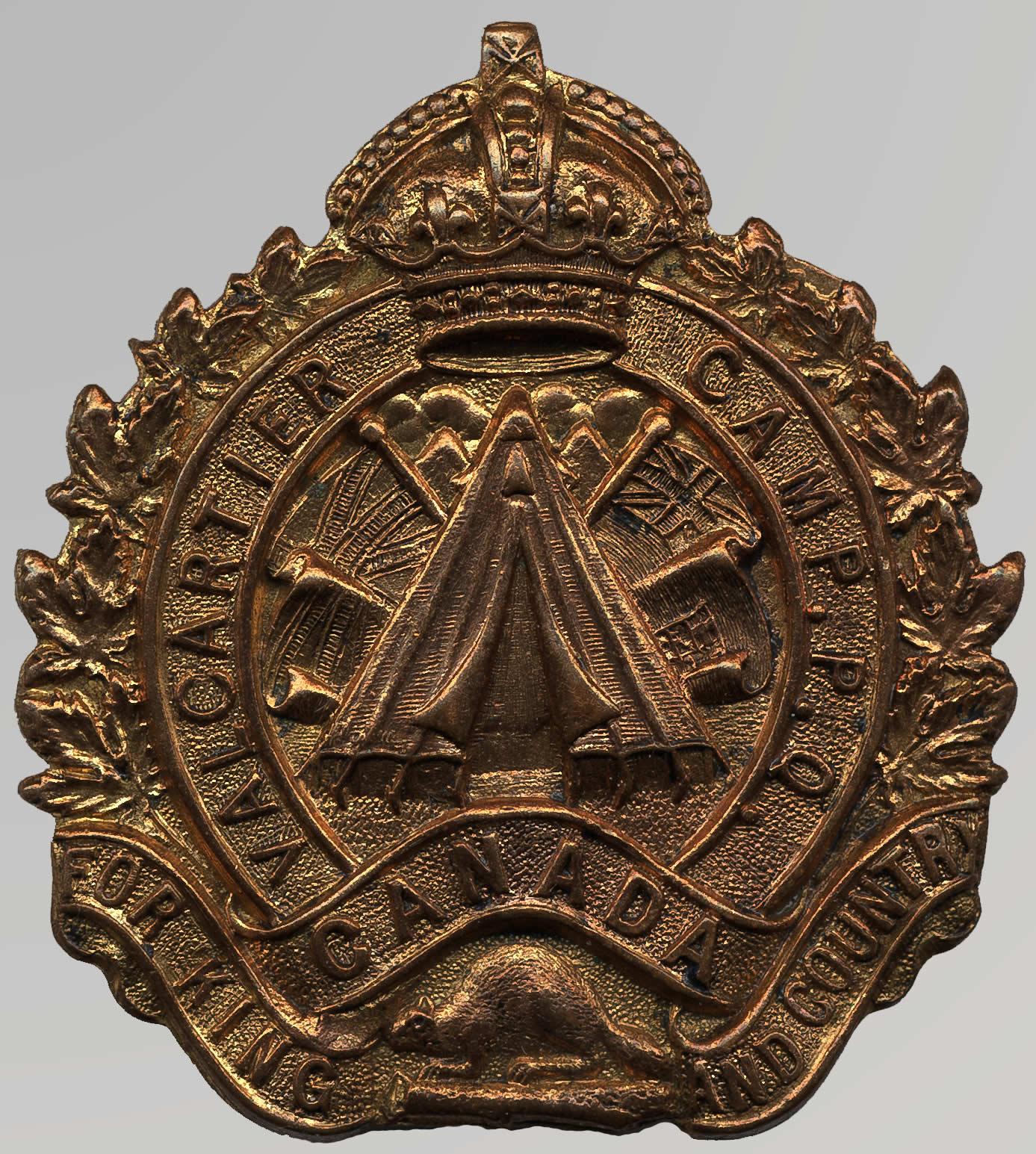 Insigne de Valcartier