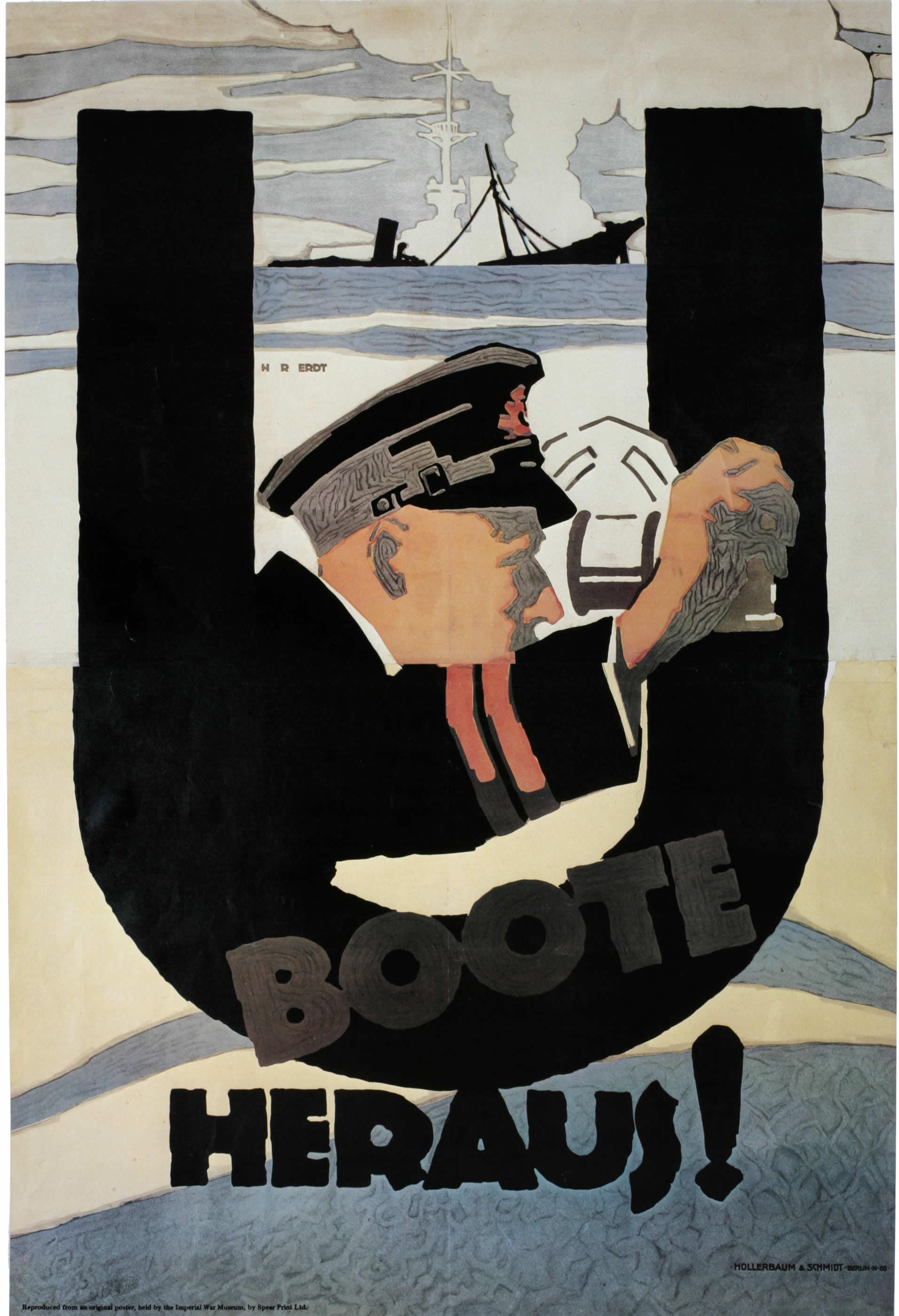 U Boote Heraus! (Lancement de U-boot!)