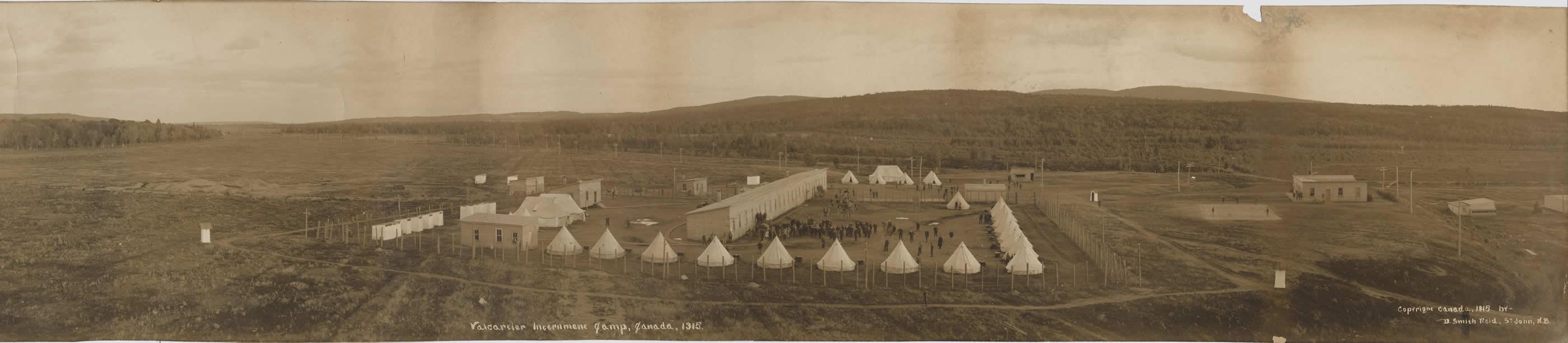 Camp d'internement de Valcartier