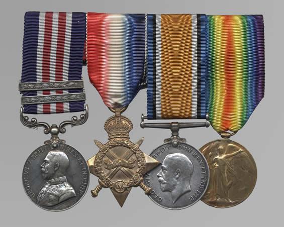 Ensemble de médailles de Pegahmagabow