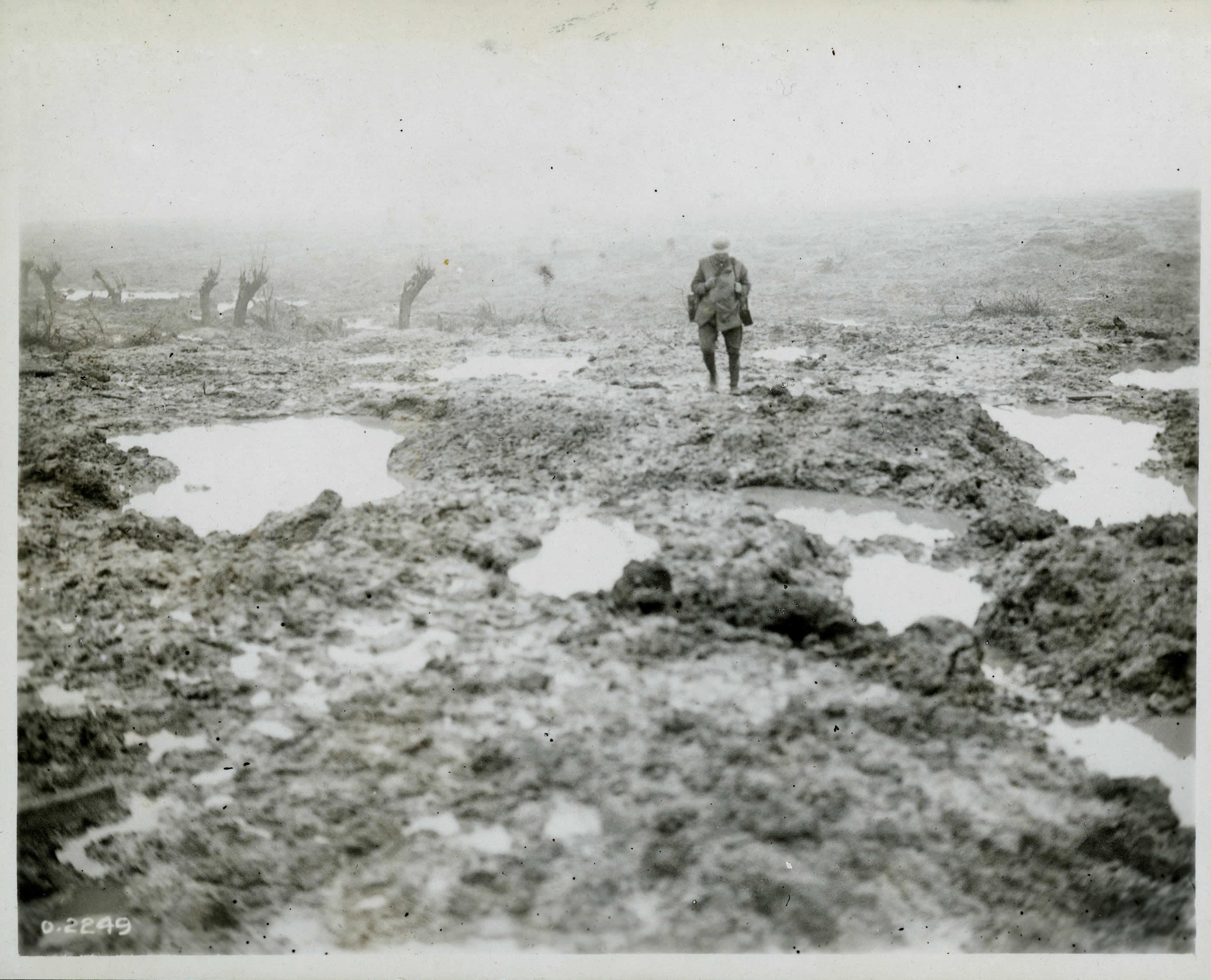 Un champ de boue