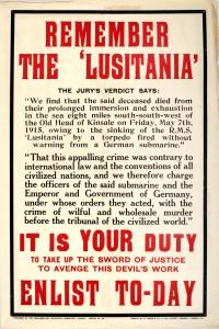 Souvenez-vous du «Lusitania»