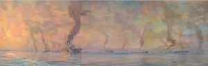 La grande armada du Canada, 1914