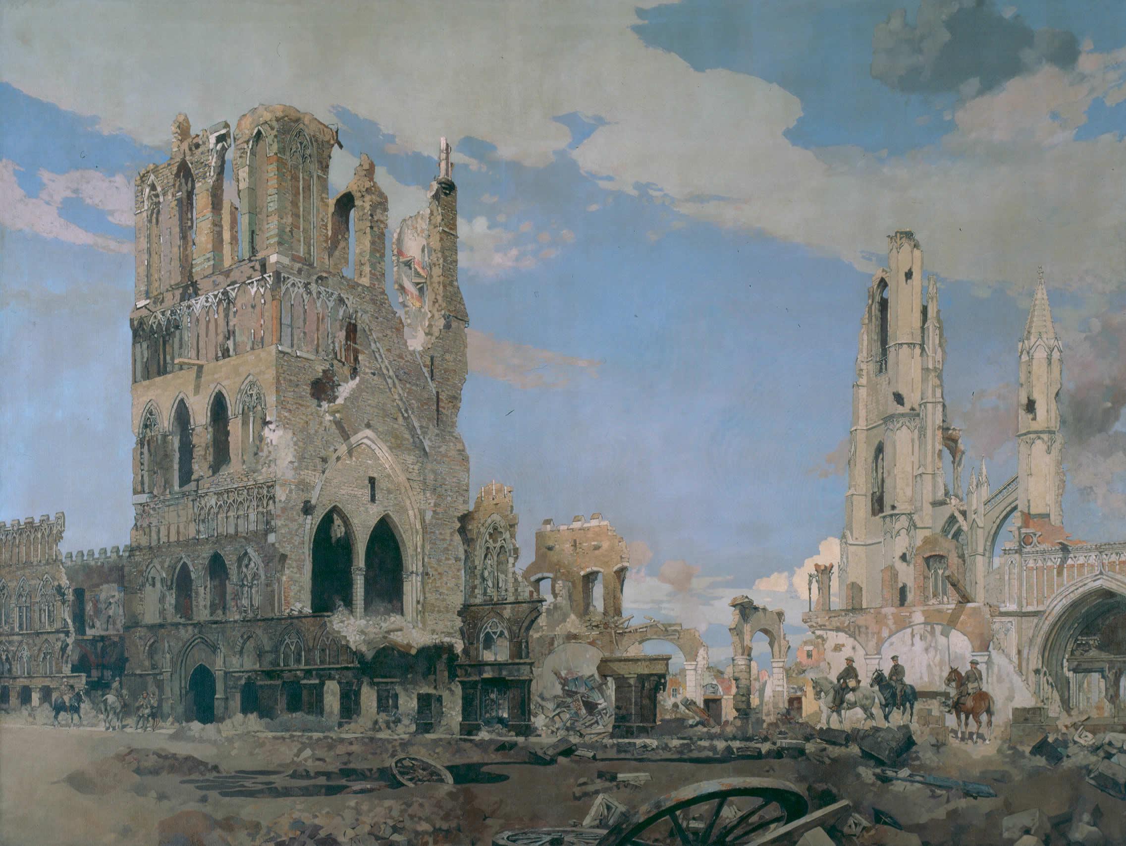 <i>La Halle aux draps, Ypres</i>