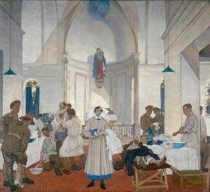 3e hôpital fixe canadien à Doullens