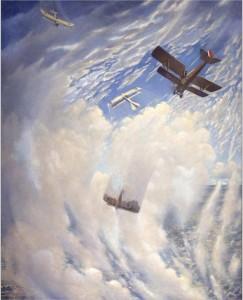 La guerre dans les airs