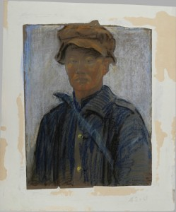 Un travailleur chinois