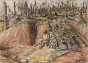 La demeure d'un artiste sur la Somme